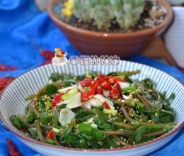 随手摘把野菜就是一盘抢手菜-浇油马齿苋