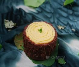 这甜点吃多少都不会胖,用豆沙代奶油低脂健康