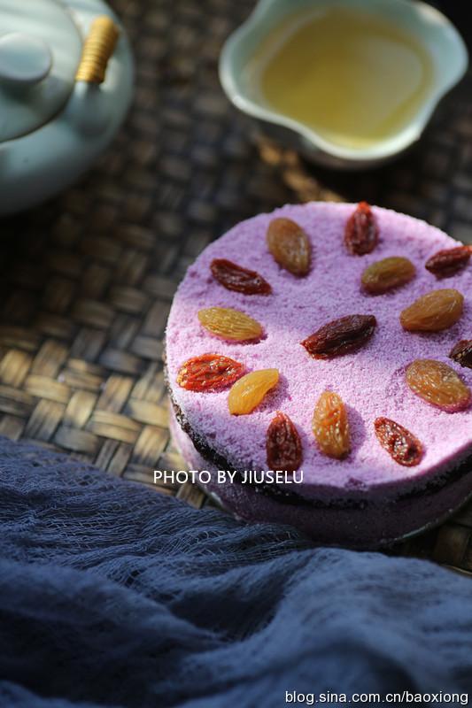 重阳节最有爱的美食:紫薯重阳糕