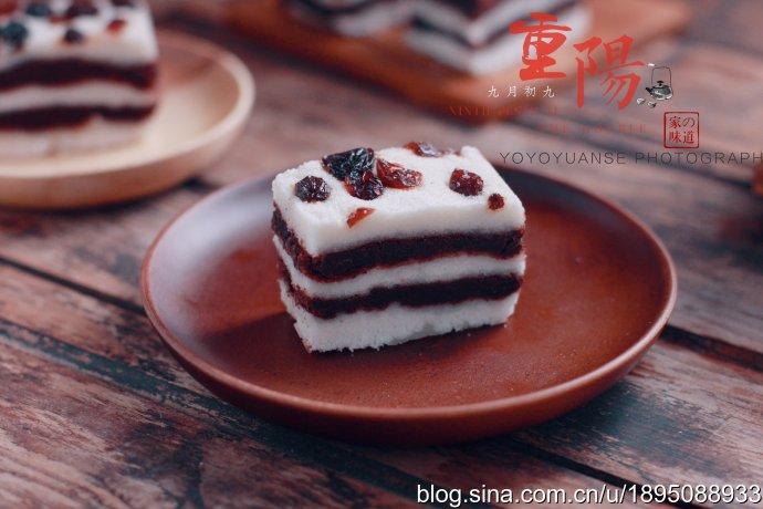 九九重阳节,在家也能制作重阳糕,香甜可口又细腻
