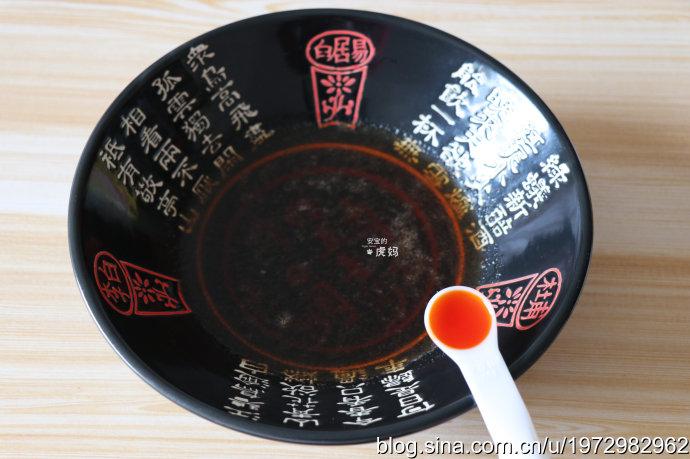湯鮮味美酸辣開胃的香菇肉臊子酸湯面