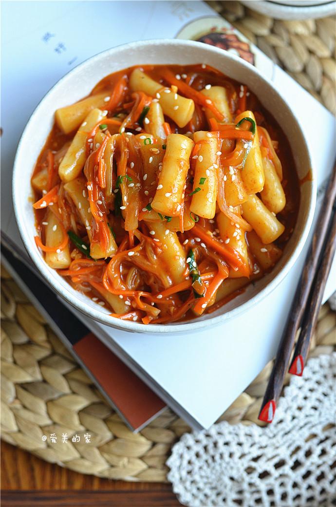 韩式炒年糕---15分钟韩国街头美食轻松做