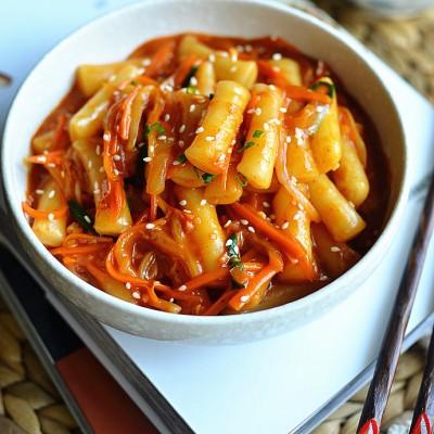 韓式炒年糕---15分鐘韓國街頭美食輕松做