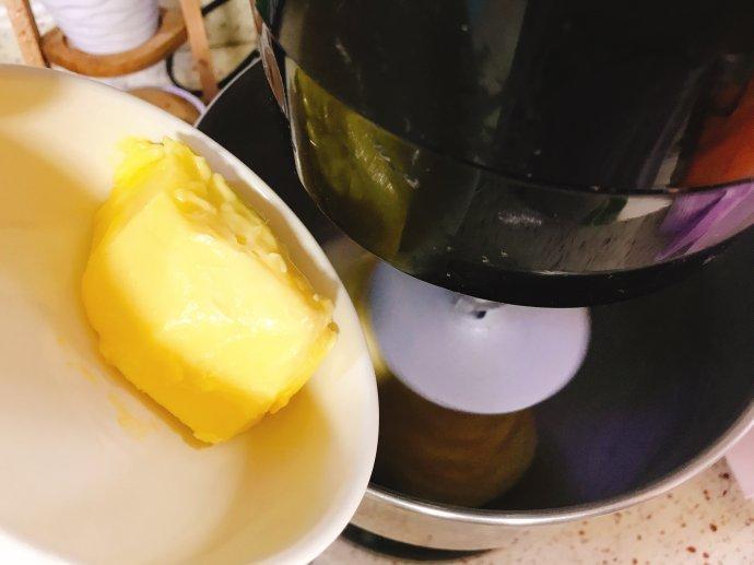 家庭版中种法港式菠萝包