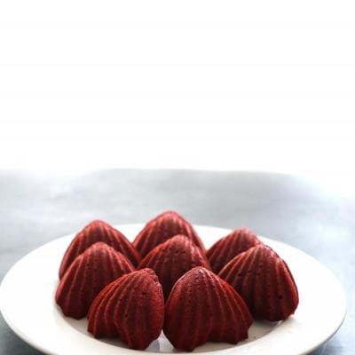西屋蒸烤箱食谱——红丝绒玛德琳