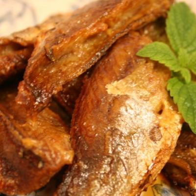【风味小黄鱼】--#空气炸锅食谱#