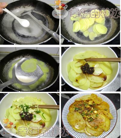 用它来做凉拌菜脆嫩可口-凉拌土豆片