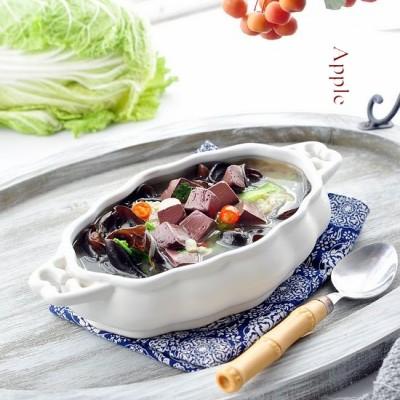 价廉却营养的补血养颜菜:丝瓜猪血汤