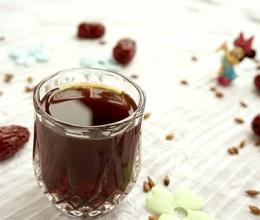 红糖红枣大麦茶