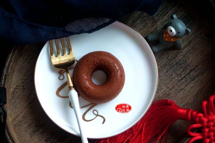 非油炸,口感佳,香甜又松軟的可可甜甜圈,寶寶最愛吃