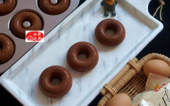 非油炸,口感佳,香甜又松软的可可甜甜圈,宝宝最爱吃