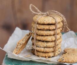 【咸味燕麦饼干】无糖低脂健康饼干