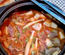 热乎乎的暖锅——【韩式大酱汤】