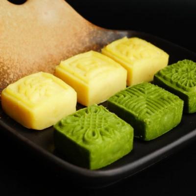【桂花绿豆糕】Vs【抹茶绿豆糕】