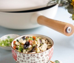 从小吃到大的记忆就是蔬菜素麻食