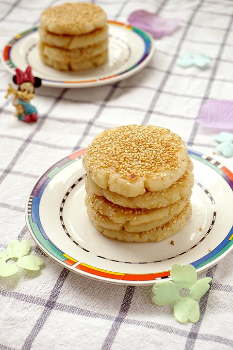 中式健康点心软糯山药糯米饼