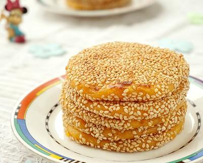 黏软红薯糯米饼