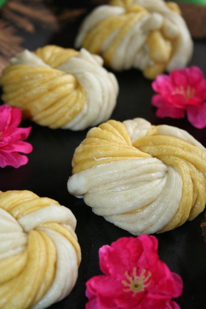 【金银丝花卷】--#花卷界的颜值担当#
