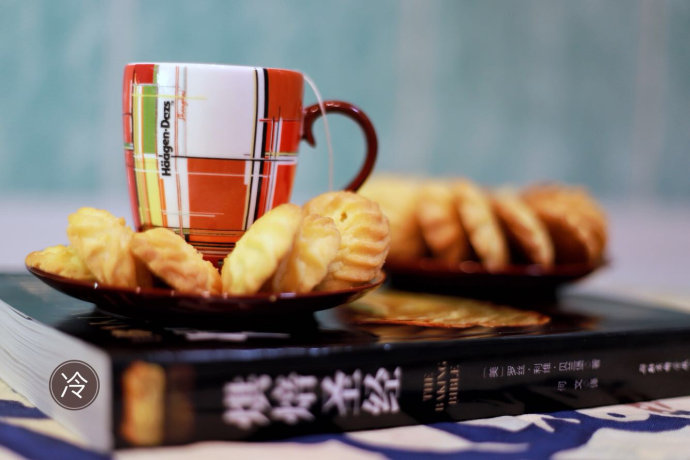 冬天的零食免搟黃油餅干