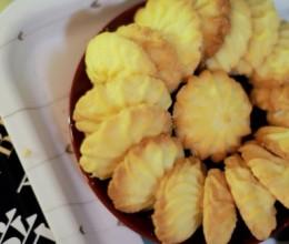 冬天的零食免擀黄油饼干