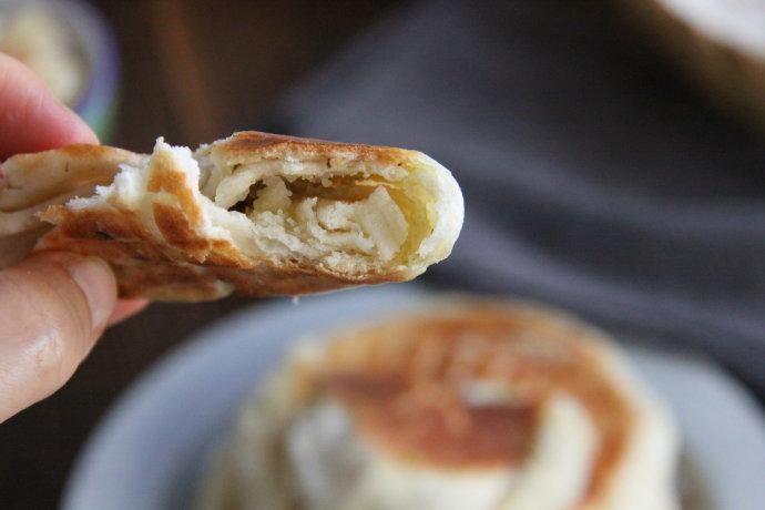 家常发面葱油饼