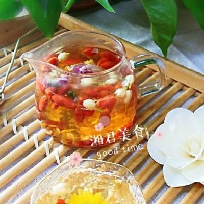 人间有味是清欢-小酌美容养颜的玫瑰茉莉花茶