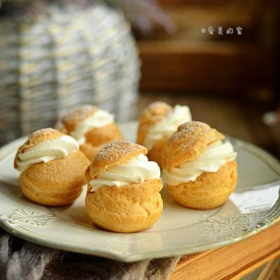 奶油泡芙---一口就会爱上的甜蜜