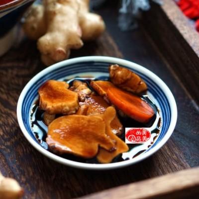 像姜不是姜,比黄瓜爽脆,这个小酱菜满口香,好吃又健康
