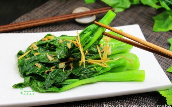 教你3个小秘诀,做的菜心翠绿爽口,鲜嫩多汁,好吃的停不下来