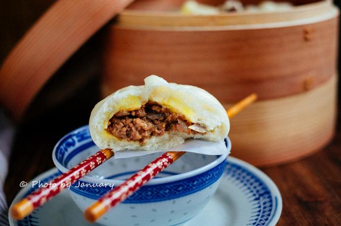 【咖喱牛肉包】雖然外貌丑,但很好吃
