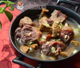鲜到能一锅见底的姬松茸柴鸡汤