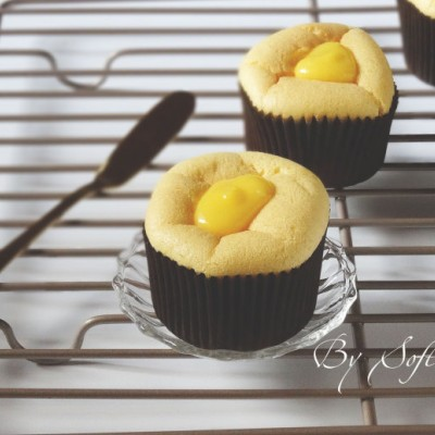 消灭秋困还能预防感冒的清新小甜品/柠檬凝乳夹心小蛋糕