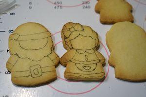 圣诞老人,他也有爱情【圣诞糖霜饼干】