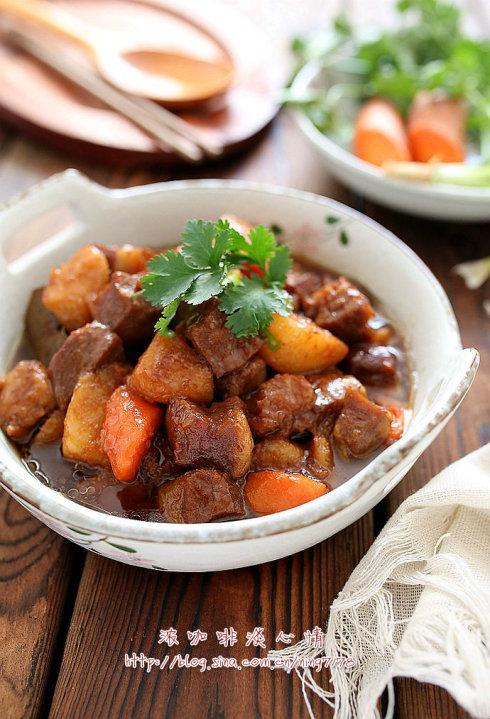 山药炖牛肉:冬季温补多食山药