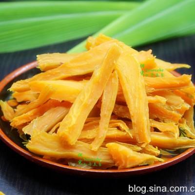 红薯干这么晒,零添加更健康,软糯香甜,Q弹十足,孩子很爱吃!
