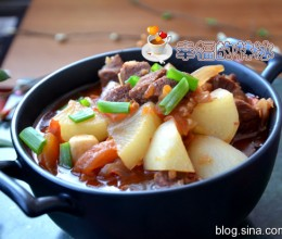 煲一锅冬日里的暖身菜-西红柿牛肉炖萝卜