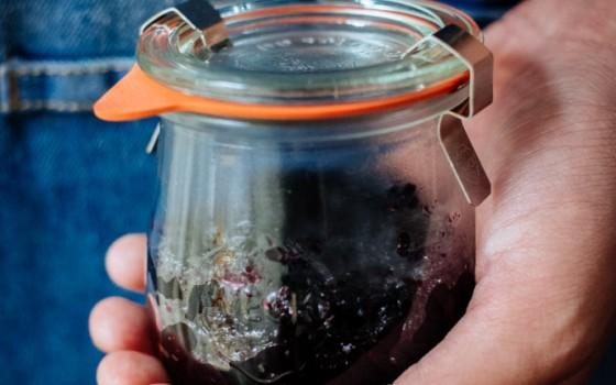 【蓝莓果酱】酸甜诱人的蓝莓果酱