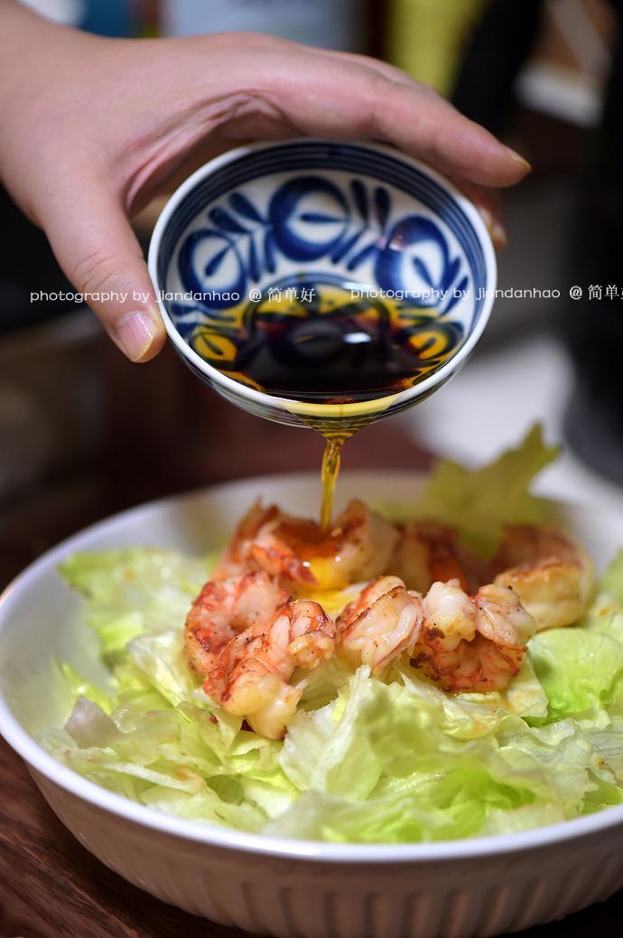 【虾球西生菜】节日餐桌上少不了的美味沙拉