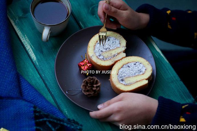 奥里奥永远和甜品最搭,奥里奥黄油蛋糕卷做法