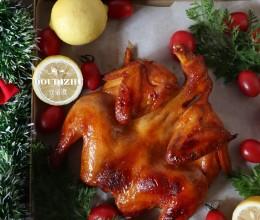 烤火鸡太大吃不下?简化版奥尔良烤鸡,让你一样感受到圣诞气氛