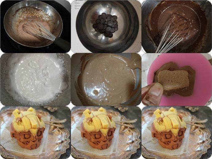 愿得一人心--大黄蜂慕斯蛋糕
