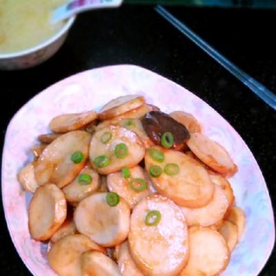 快手美味菜——【干煸杏鲍菇】