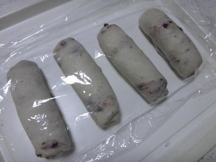 冠军食谱【蓝莓干贝果】
