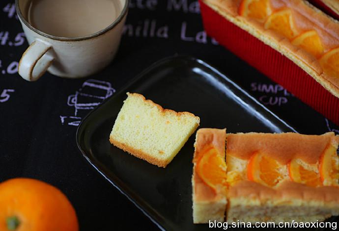 这才是真正的橙香蛋糕,果香四溢