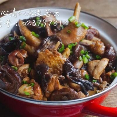 年菜预热之东北菜--小鸡炖蘑菇