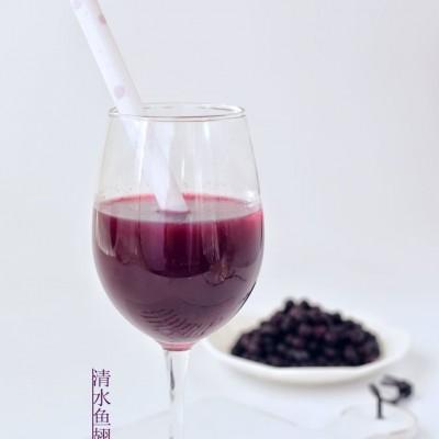春节一定要用蓝莓做一杯倍儿显档次的饮料
