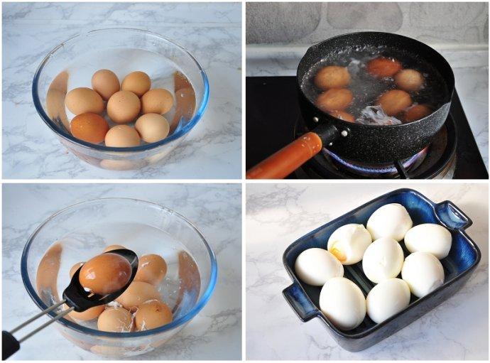 只用五分钟煮出完美的溏心酱鸡蛋