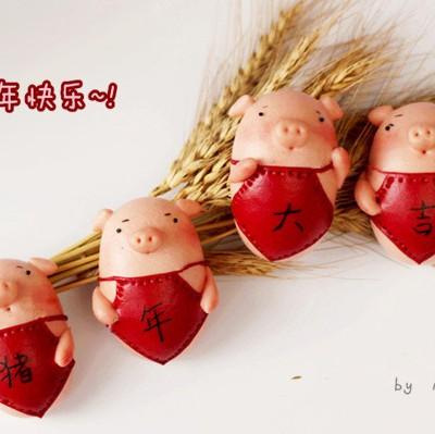 豬年大吉【豬豬卡通饅頭】