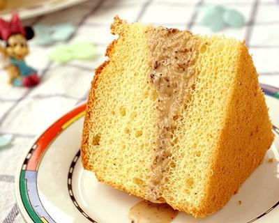 焙煎芝麻沙拉汁戚風蛋糕