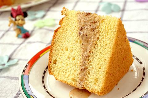 焙煎芝麻沙拉汁戚风蛋糕